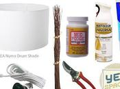 Dramatic White Branch Drum Shade Chandelier Less Than