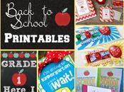 FREE Back School Printables
