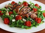 Butter Lettuce, Chicken, Cherry Salad Non-Vegetarian