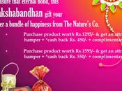 This Rakhi Gift Bundle Happiness from Nature's
