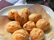 Gougères: French Style Gruyère Cheese Thyme Puffs