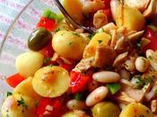 Tuna, White Bean Potato Salad
