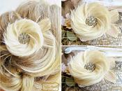 Ivory Feather Fascinator Fashion Conscious Bride