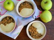 Apple Raisin Oaty Crumble with Vanilla Custard